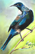 Tui Mini Outdoor Art Panel - Satherley Silks NZ