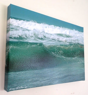 Photo on Canvas - Seascape Waves 3