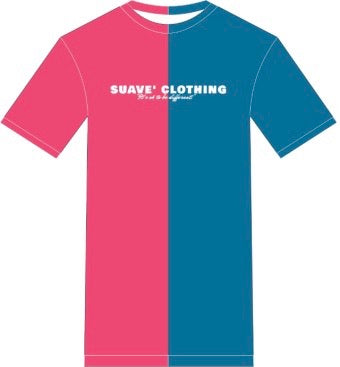 Cotton Candy Split Tee