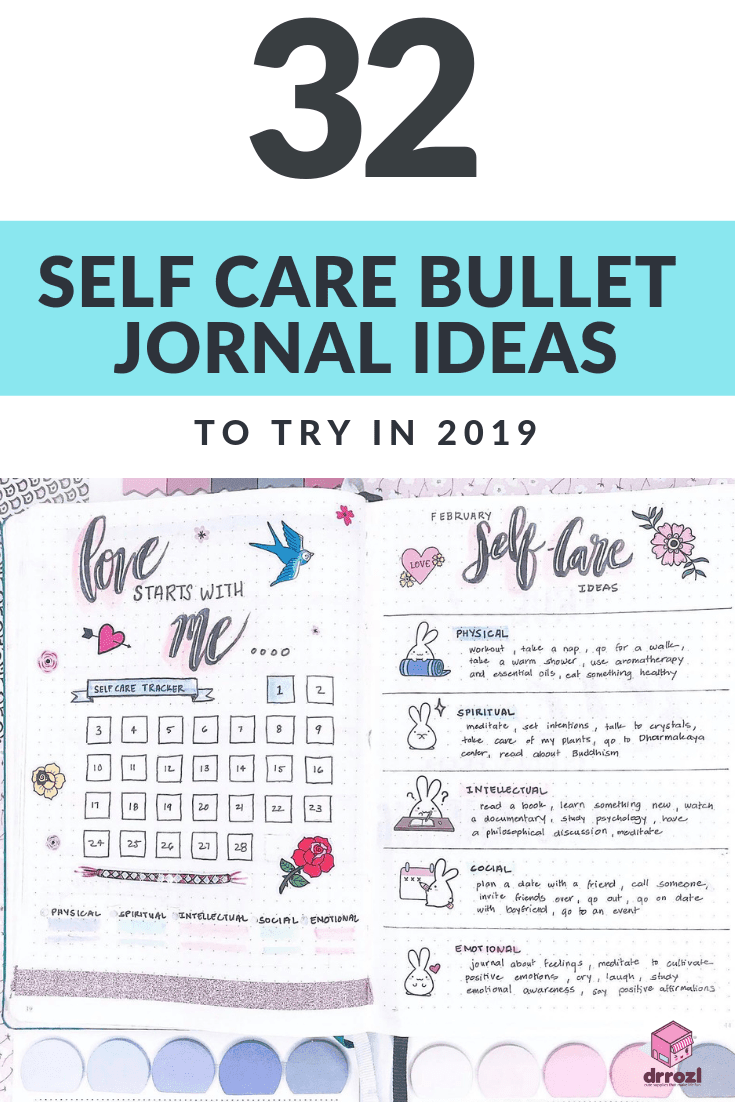 32 Amazing Self Care Bullet Journal Ideas to Try in 2019
