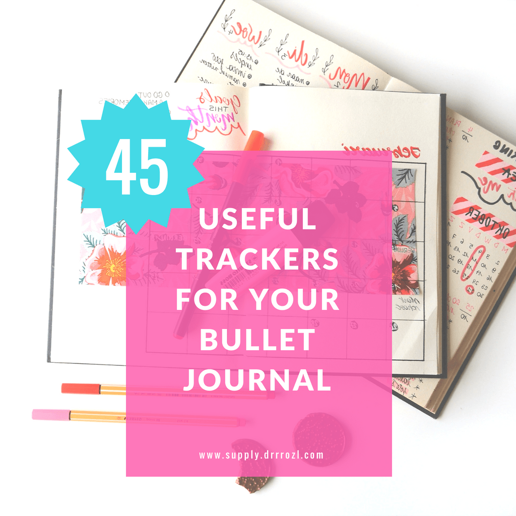40+ Useful Bullet Journal Lists