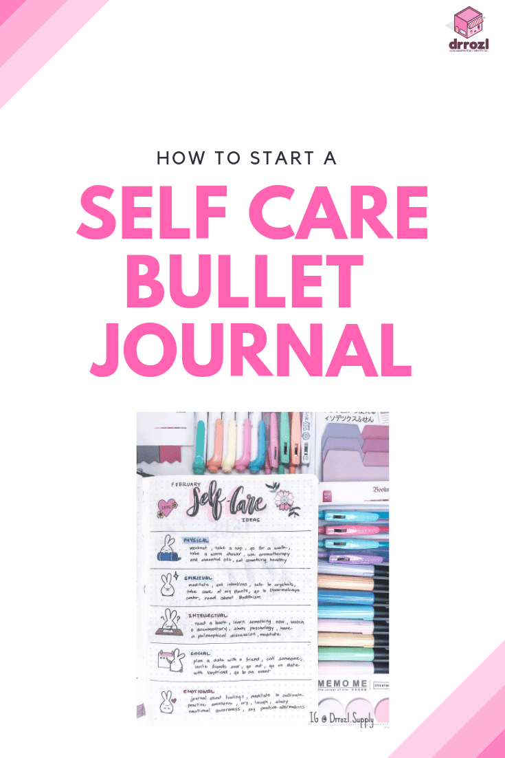 How to Start a Self Care Bullet Journal