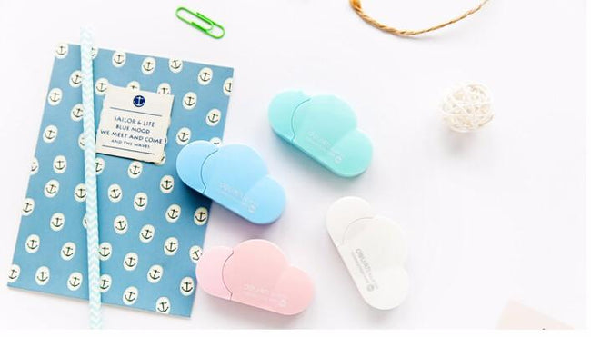 Kawaii Cloud Correction Tape - Dr. Rozl Supply