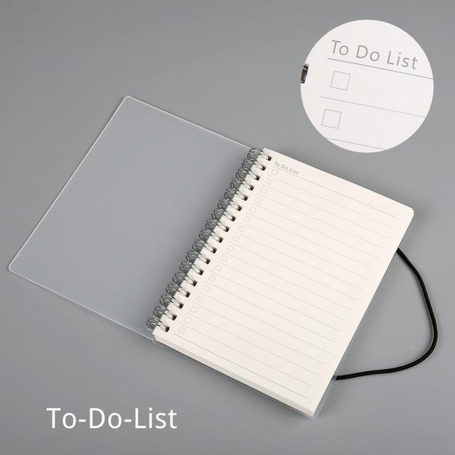 Clear Spiral Notebook - Dr. Rozl Supply