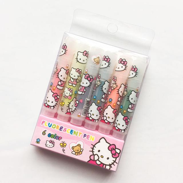 Hello Kitty Highlighter Set - Dr. Rozl Supply