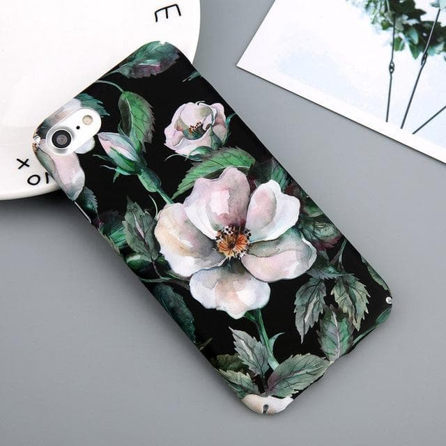 Painted Flower Tropical Series Phone Cases - Dr. Rozl Supply