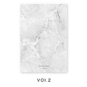Note For Silence: Marble Pocket Diary - Dr. Rozl Supply