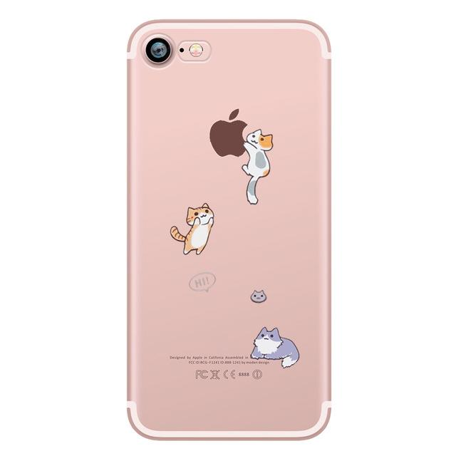Cute Animals Transparent Phone Case - Dr. Rozl Supply
