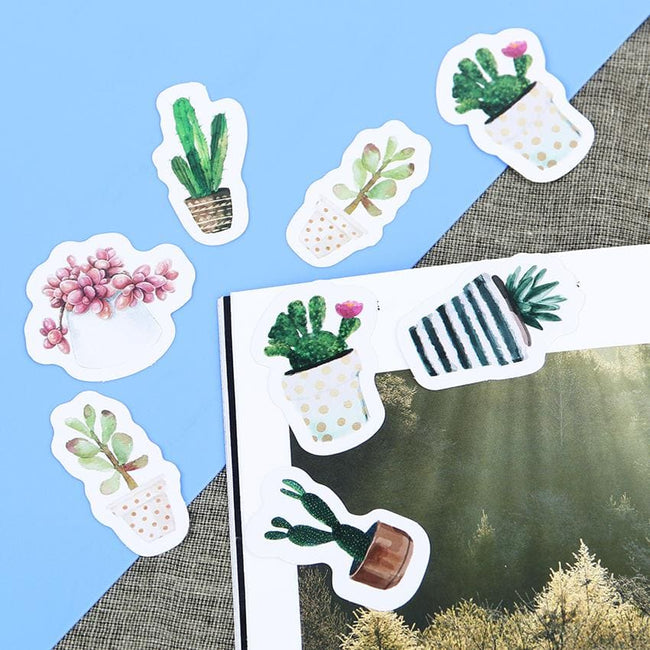 125 Cactus Stickers - Dr. Rozl Supply