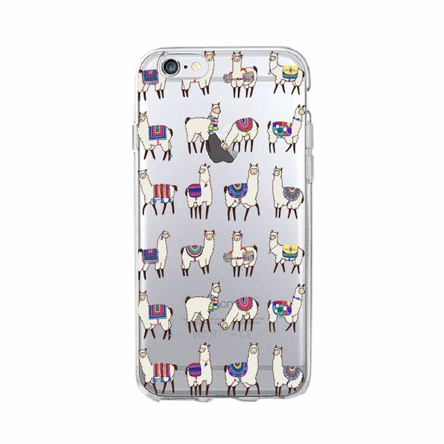 Llamas Transparent Phone Case - Dr. Rozl Supply