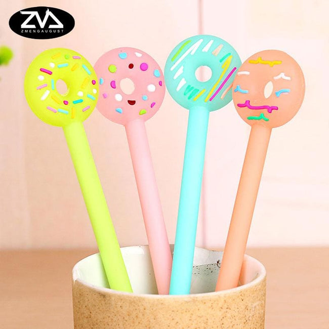 Donut Eat! Pens 4 pc - Dr. Rozl Supply