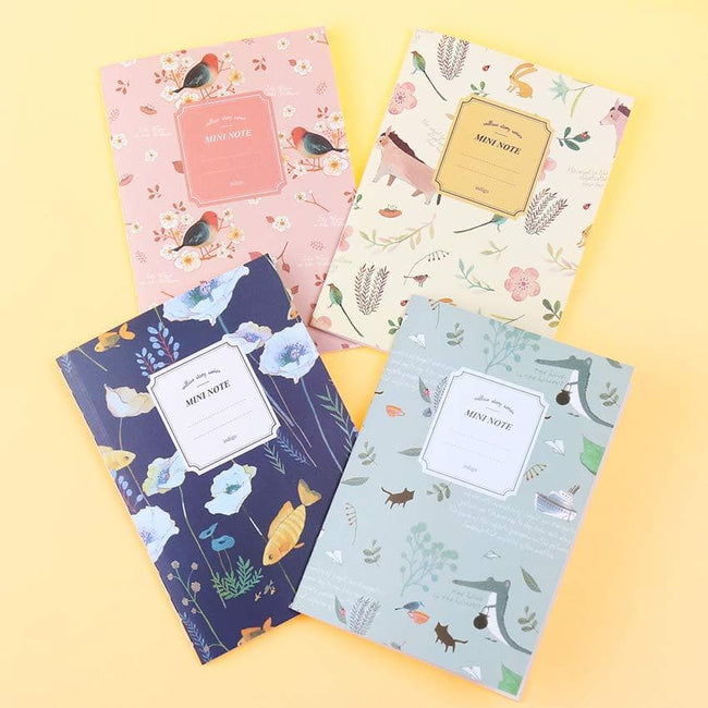 Lovely Animals Mini Notebook Set - Dr. Rozl Supply
