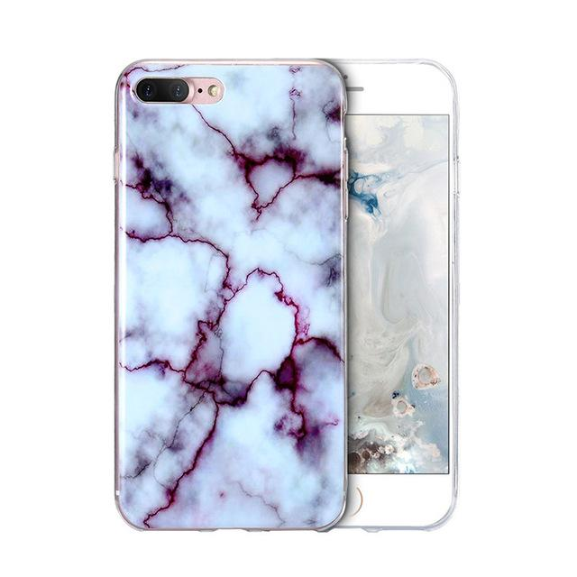 Purple Luxury Marble Phone Case - Dr. Rozl Supply