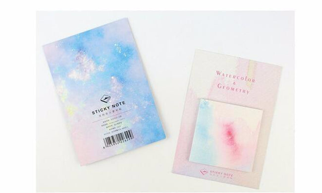 Watercolor Memo Pad - Dr. Rozl Supply