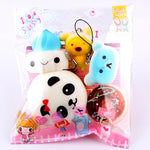 Lovely Animals Mini Squishy Charms - Dr. Rozl Supply