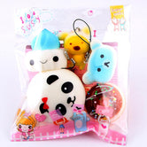 Lovely Animals Mini Squishy Charms
