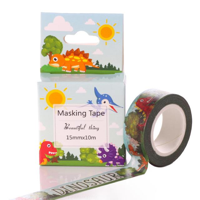 Dinosaur Washi Tape - Dr. Rozl Supply