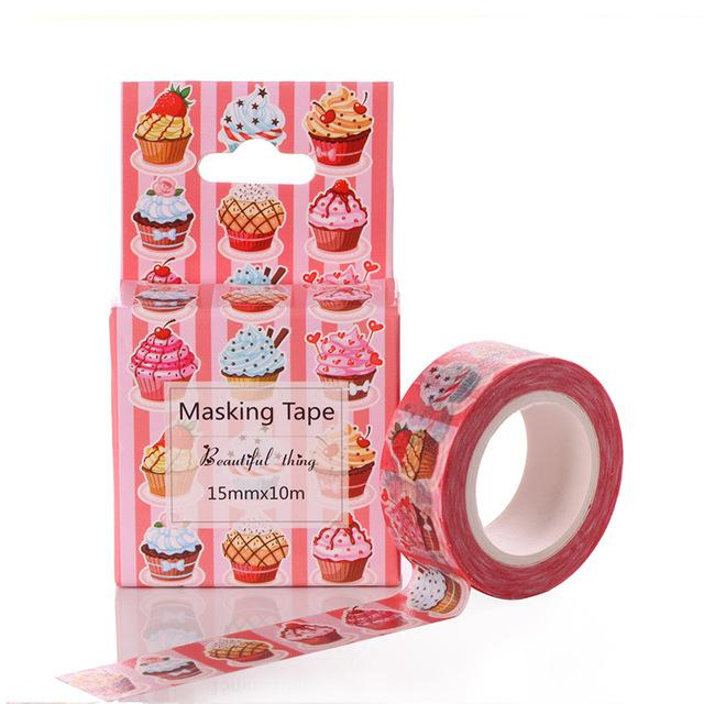 Cupcake Washi Tape - Dr. Rozl Supply