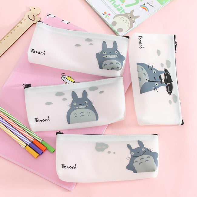 Totoro Jelly Pencil Case - Dr. Rozl Supply