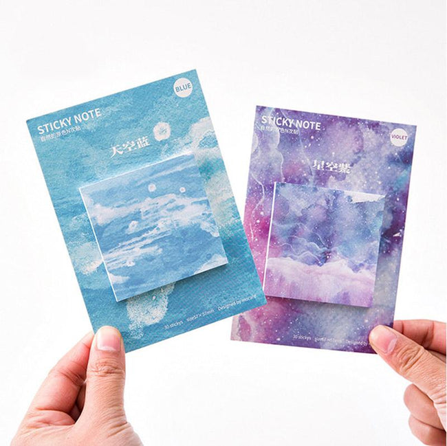 Beautiful Watercolor Memo Pads - Dr. Rozl Supply