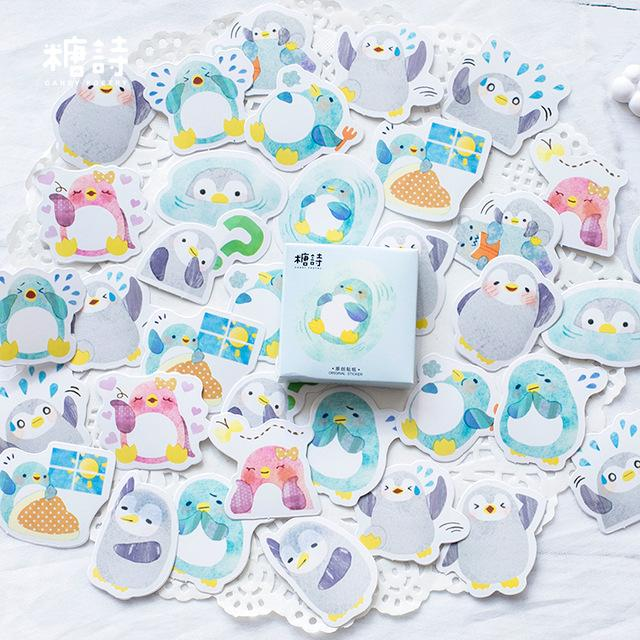 Cute Penguin Stickers - Dr. Rozl Supply