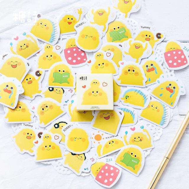 Kawaii Chick Penguin Stickers - Dr. Rozl Supply