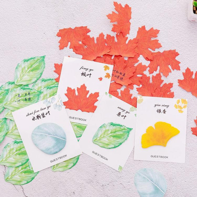 Fall Leaves Memo Pads - Dr. Rozl Supply
