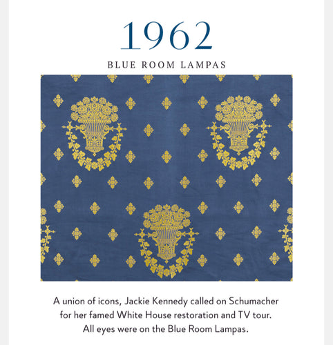 History Leasons from Schumacher Fabrics
