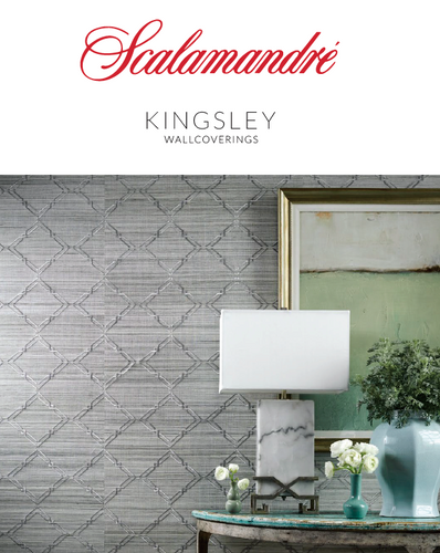Kingsley Wallcoverings by Scalamandre