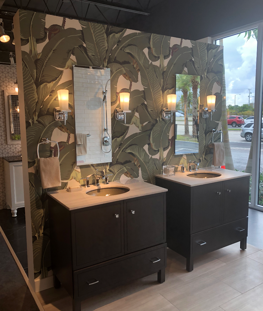 Spotlight: KOHLER + Beverly Hills Martinique Banana Leaf