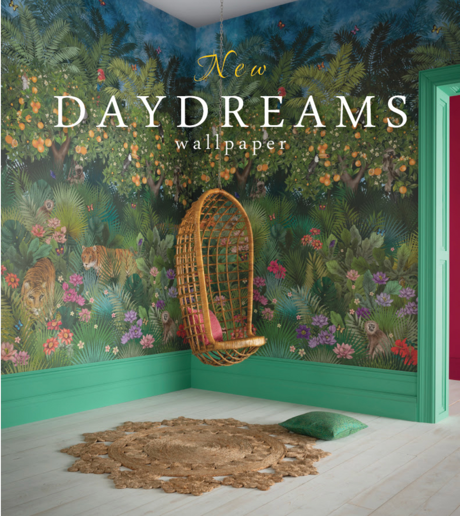 California Chic and Daydreams Wallpaper