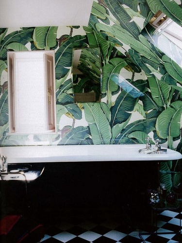 Beauty in the Bathroom: Wallpaper Inspiration