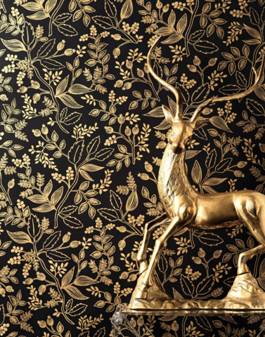 Goth Whimsy: Black Wallpapers that Inspire