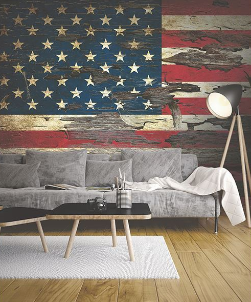 Happy Independence Day! Patriotic Wall Inspiration