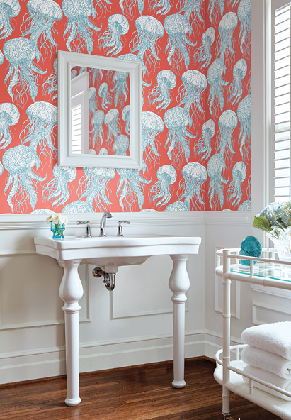 Escape to the Sea: Ocean Inspired Wallcoverings & Murals