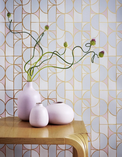 PATTERN + PAINT: H&W WALLPAPERS MEET BENJAMIN MOORE'S 2020 COLORS OF THE YEAR