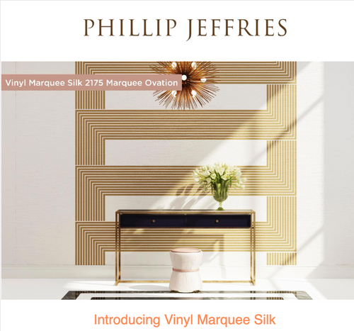 New for Spring: Vinyl Marquee Silk by Phillip Jeffries