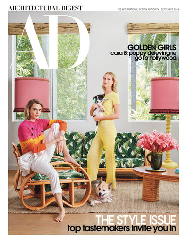 Architectural Digest: Cara + Poppy Delevingne's Tropical Los Angeles Retreat