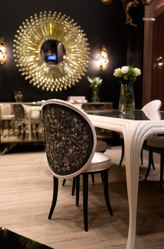 Special Item: Merveille Real Feather Dining Chair by KOKET