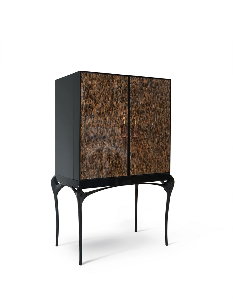 Special Item: Temptation Real Feather Bar Cabinet by KOKET