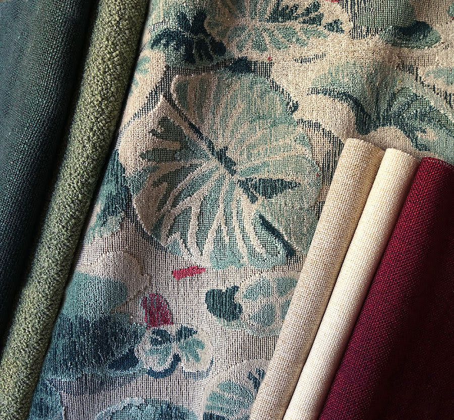 Spring Fabrics by The House of Scalamandre