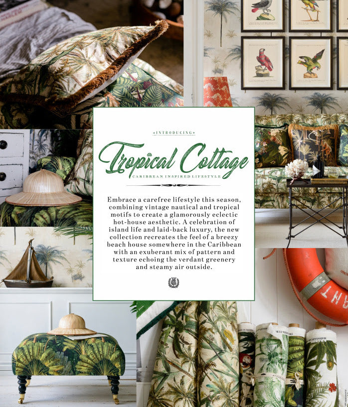 Tropical Cottage: Inspired by the Extravagant Caribbean Lifestyle