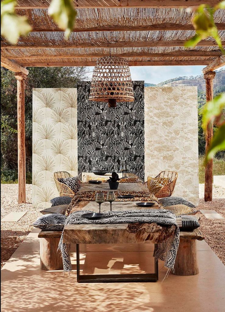 Wallpapers and Fabrics Inspired by Spanish Villas