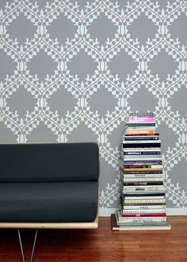 Leaf Damask™ Wallpaper