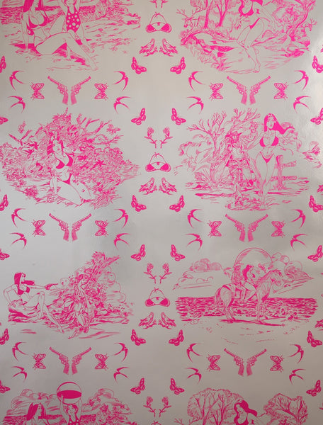 Sassy Toile by Flavor Paper