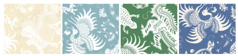 China Seas Wallpaper and Fabrics