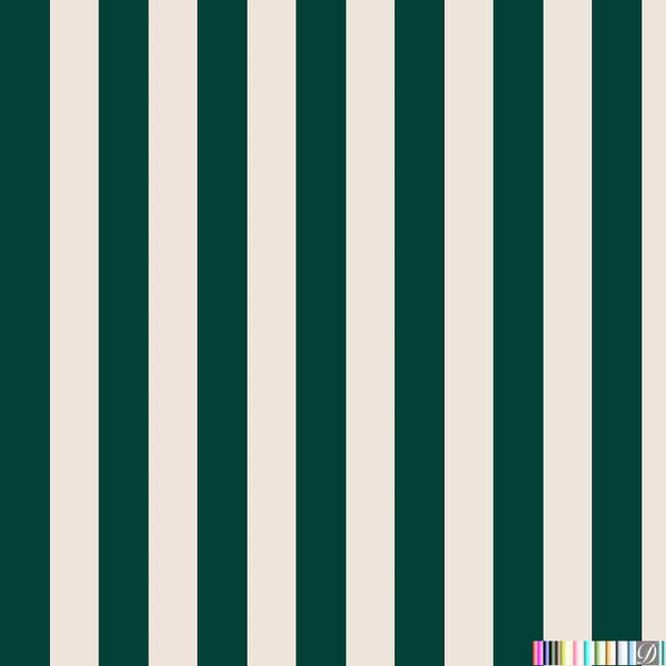 Beverly Hills Stripe Wallpaper - Rodeo - Pattern Design Lab
