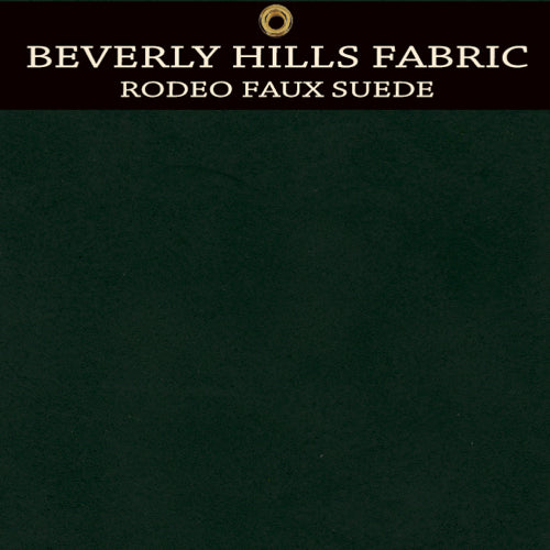 Beverly Hills Rodeo Faux Suede - Golfer's Green