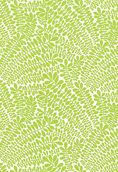 Fabulous Leaf Fronds Print