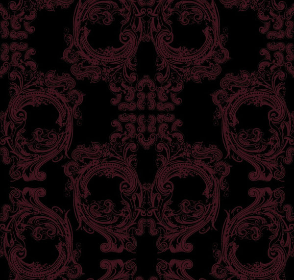 Noah's Baroque Skulls - Pattern Design Lab